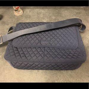 NWT Vera Bradley Navy Messenger Bag